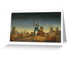 Night of the Jack-O-Laterns Greeting Card
