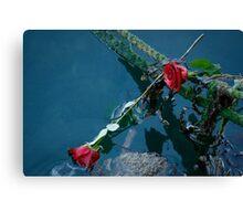 Barfleur Roses Canvas Print