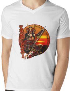Samurai - Pin-Up Warriors Mens V-Neck T-Shirt