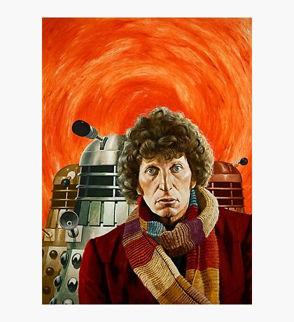 Doctor Who by Terry Oakes Photographic Print