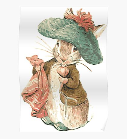Benjamin Bunny Poster