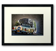 1956 Ford Thunderbird Convertible Framed Print