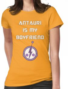 Antauri is my boyfriend Womens Fitted T-Shirt