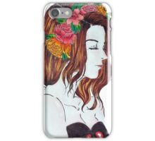 flower crown iPhone Case/Skin