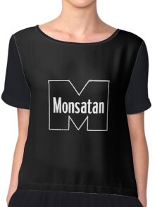 Monsatan (White) Chiffon Top