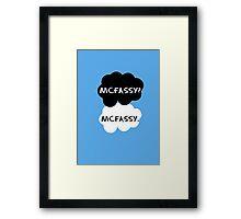 Mcfassy - TFIOS Framed Print