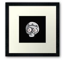 Skull Shirts - Funny Cartoon Framed Print