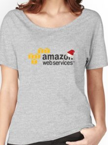 AWS Christmas Logo Women's Relaxed Fit T-Shirt