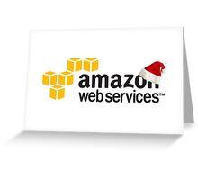 AWS Christmas Logo Greeting Card