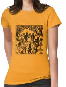 Dance with the Devil  Womens Fitted T-Shirt