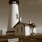 Yaquina Head Lighthouse by Randy Richards