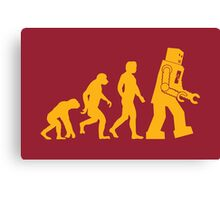 Human Evolution Canvas Print