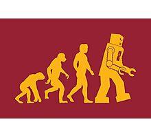 Human Evolution Photographic Print