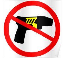 Ban tazer guns Poster