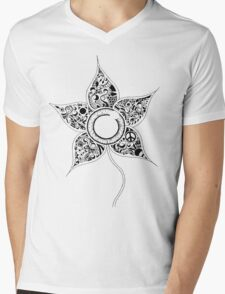 Eyeflower Mens V-Neck T-Shirt