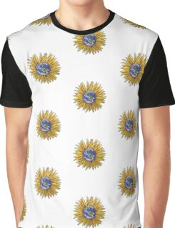 Sunflower Earth Graphic T-Shirt