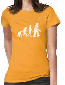 Human Evolution Variant Womens Fitted T-Shirt