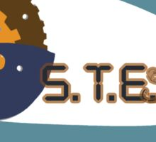 S.T.E.M education to S.T.E.A.M education Sticker