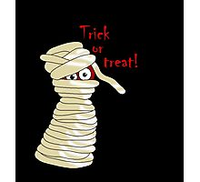 Halloween mummy  Photographic Print