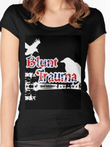 Blunt Trauma Women's Fitted Scoop T-Shirt