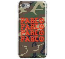 Kanye West Pablo Camo iPhone Case/Skin