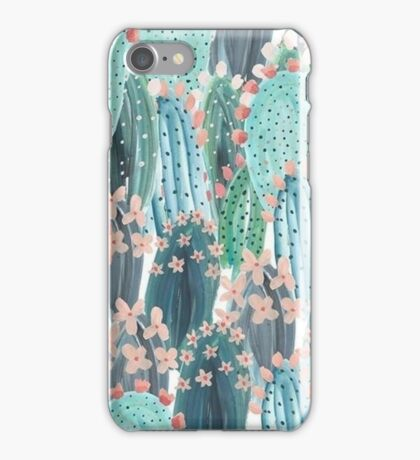 beautiful cactus iPhone Case/Skin