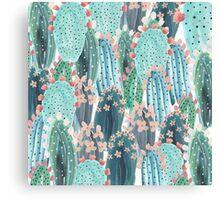 beautiful cactus Canvas Print