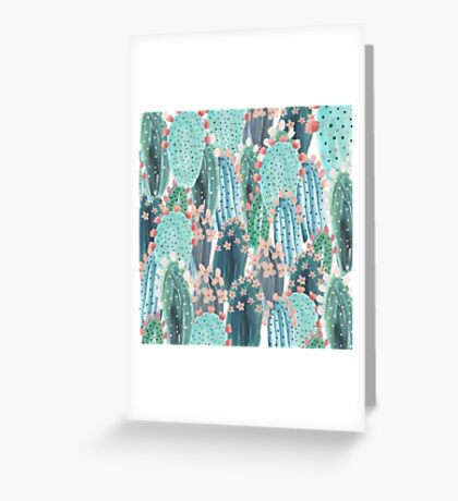 beautiful cactus Greeting Card