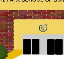 Ithaca College - Park School of Communications Sticker