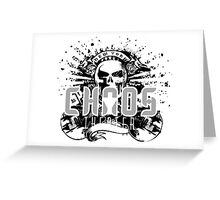 Chaos Theater Greeting Card