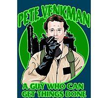 Pete Venkman Photographic Print