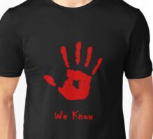 Dark Brotherhood Knows...You've been Bad! Unisex T-Shirt