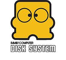 Famicom Disk System Photographic Print