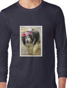 Leo from Old Friends Senior Dog Sanctuary Long Sleeve T-Shirt