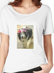 Leo from Old Friends Senior Dog Sanctuary Women's Relaxed Fit T-Shirt