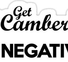 BE NEGATIVE (5) Sticker