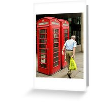 Shop & Phone Greeting Card