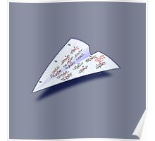 Paper Airplane 15 Poster