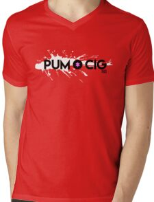 Pum Cig Mens V-Neck T-Shirt