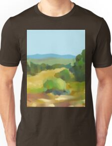 Digital Landscape Painting Unisex T-Shirt
