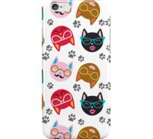 Cat Funny Faces  iPhone Case/Skin