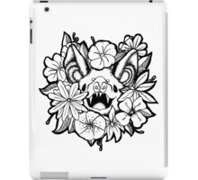 Happy Floral Bat iPad Case/Skin