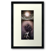 On the Wrong Side Framed Print