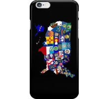 USA State Flags Map Mosaic iPhone Case/Skin