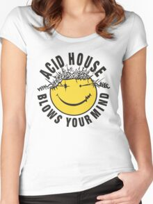 Acid House Blows Your Mind Women's Fitted Scoop T-Shirt