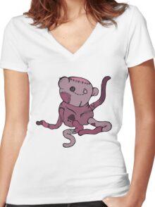 Hambo Women's Fitted V-Neck T-Shirt