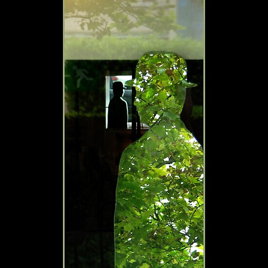 Through Magritte by Bluesrose