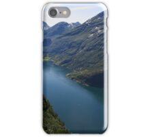 Gerianger Fiord . Norway . © Dr.Andrzej Goszcz. iPhone Case/Skin