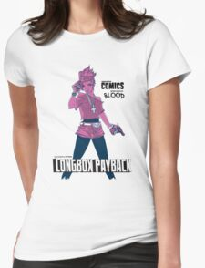 Longbox Payback Womens Fitted T-Shirt