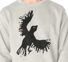 splatter bird Pullover